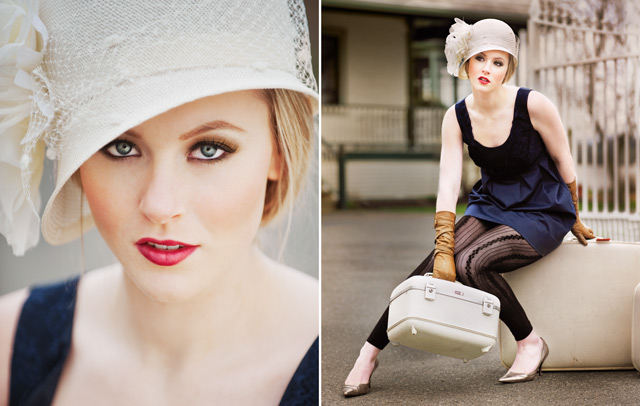 edie hats, vancouver hat fashion photography
